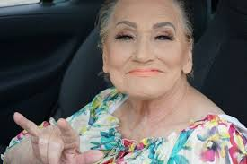 grandma livia is enjoying her viral fame and her friends and family call her a star makeup