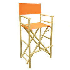 outdoor director chair. Amazon.com: Zew Hand Crafted Tall Foldable Bamboo Director\u0027s Chair With Treated Comfortable Canvas, Set Of 2 Folding Chairs, Pottery: Kitchen \u0026 Outdoor Director