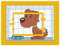 animal shelter clipart.  Shelter Dog In Animal Shelter Cage Clipart Size 100 Kb From To