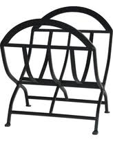 black wrought iron patio furniture. uniflame black wrought iron log rack patio furniture