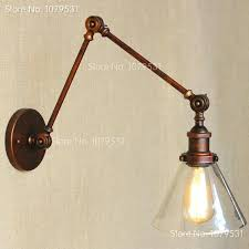 captivating wall mount swing arm lamp retro swing arm wall shade vintage wall intended for wall