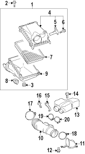 parts com® toyota fj cruiser engine appearance cover oem parts diagrams 2013 toyota fj cruiser base v6 4 0 liter gas engine appearance cover