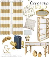 Gold And Silver Home Decor