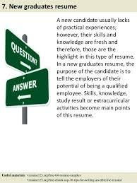 Graduate Resume Sample – Topshoppingnetwork.com