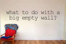 empty living room wall ideas