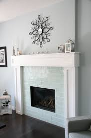 glass tile fireplace surround brilliant awesome images about ideas on inside 13