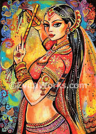 Shop unique custom made canvas prints, framed prints, posters, tapestries, and more. Indian Dancer Bollywood Dance Dancing Woman Indian Woman Magic Of Dance Signed Print 5x7 7x10 In 2021 Dance Paintings India Art Art