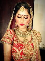 traditional indian bride makeup by parul garg