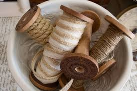 how to make diy vintage wooden spools