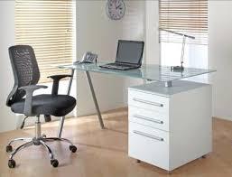 glass home office furniture. Impressive Glass Computer Desks Home Office Furniture For Modern E