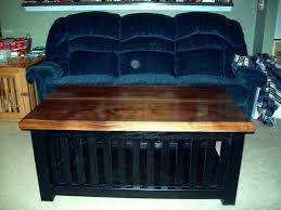dog kennel coffee table s crate plans