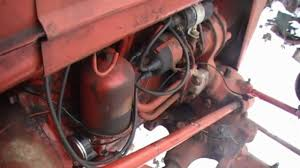 farmall a oil change