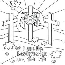 Free Coloring Pages For Easter Religious Religious Coloring Page