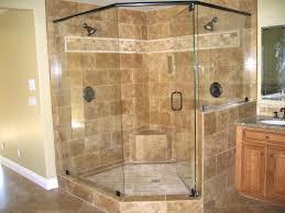 tiled corner shower stall ideas for small bathroom master