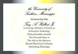 Formal College Graduation Announcements 18 College Graduation Announcements Wording Nohchiyn Net