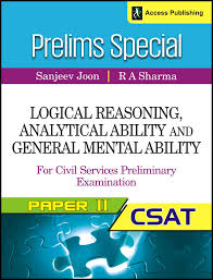 buy logical reasoning and analytical ability csat paper book logical reasoning analytical ability and general mental ability for the civil services preliminary examination
