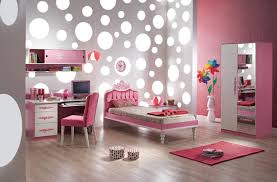 Pink And White Wallpaper For A Bedroom Girls Bedroom Wallpaper Ideas Bedroom Interior Pink Theme Bedding