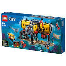 לגו סיטי 'בסיס חקר ימי' - דגם מס' 60265 - Toys Truck -טויס טראק