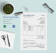 software quotation format in word price quotation template 18 free word excel pdf documents