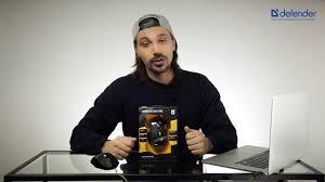 Проводная <b>Мышь Defender Witcher</b> GM-990 Black — купить в ...