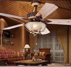rustic ceiling fans. Rustic Ceiling Fan 52inch Indoor Home Decoration Living Room Antlers Silent  Industrial Fans Chandelier Vintage Pendant Rustic Ceiling Fans