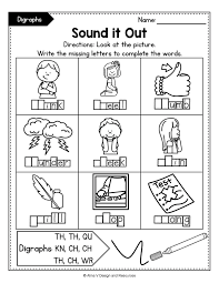 Kindergarten phonics worksheets, short vowels,a,e,i,o,u, phonics printables for kindergarten, beginning consonants, ending consonants, learn to read, short vowel a, short vowel e, word families at, an, et, est, ed, hard g, writing letters, handwriting, word formation, how to read words, for children. Consonant Digraphs Worksheets Sh Ch Th Wh Ph Kn Wr Qu Mega Bundle Phonics Activities Digraph 2nd Grade Activities