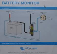 installing a battery monitor photo gallery by compass marine how battery monitor diagram