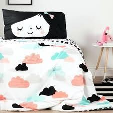 cloud bedding girls black pink white night garden cloud comforter set twin sky blue dark black geometric motif cloud nursery bedding uk