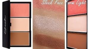 get ations sleek face form light palette review