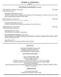 Food Prep Resume Adorable Food Resume Example Service Primary Gallery Like Emmabender