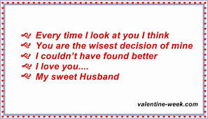 I Love You Quotes For Husband Impressive Best Love Messages Quotes For Husband 48 Valentine Week List