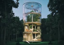cool tree houses to build. 6 Of 6; Tree In House By Aibek Almassov Cool Houses To Build