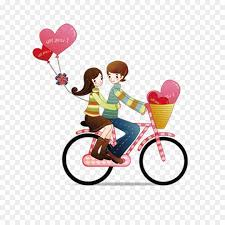 couple love romance pink heart png