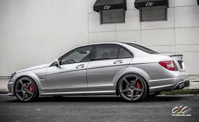 Mercedes-Benz C63 AMG with 20