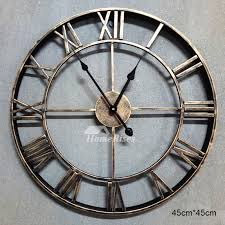 antique wall clocks round og black