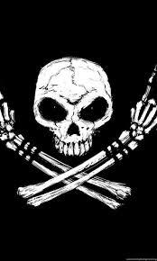 free skull rock n roll desktop