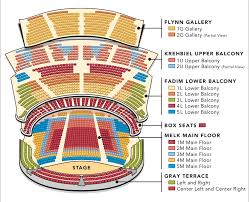 Flynn Mainstage Seating Chart Chicago Symphony Center Chicago Events 2019 20 Tickets