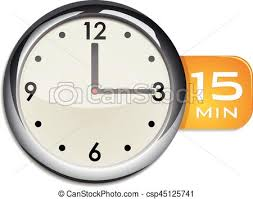 office wall clock. Office Wall Clock Timer 15 Minutes - Csp45125741 C