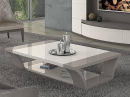 grey wood coffee table modern