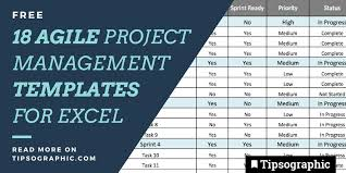 project management free templates 18 jackpot agile project management templates for excel free