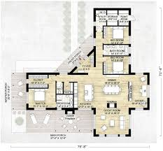 Contemporary home plans