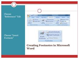 Ppt Understanding Chicago Styles Main Features Creating Footnotes