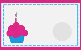 Card Outline Print Your Own Birthday Cards Print Your Own Birthday Card Greeting