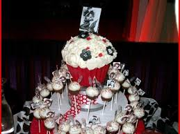 This Was A Bettie Page Themed Birthday Party Cake Pops Were Coconut