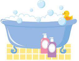 フリーイラスト] 泡風呂 - パブリックドメインQ:著作権フリー画像素材集