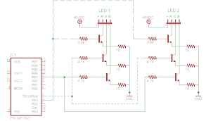 using multiple leds one colorsynth mainboard colorsynth colorsynth circuit driving two leds