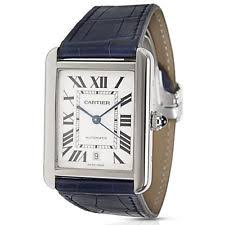 cartier watches for men women new used cartier tank solo xl w5200027 men s watch in stainless steel