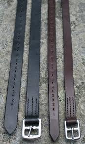 half hole leathers