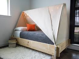 How To Make A Tent How To Build A Tent Bed Hgtv