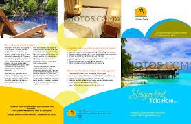 brochures bro trifold 17x11 hotel resort